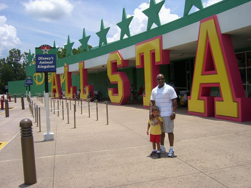 Me and my little man! Disney 2009.